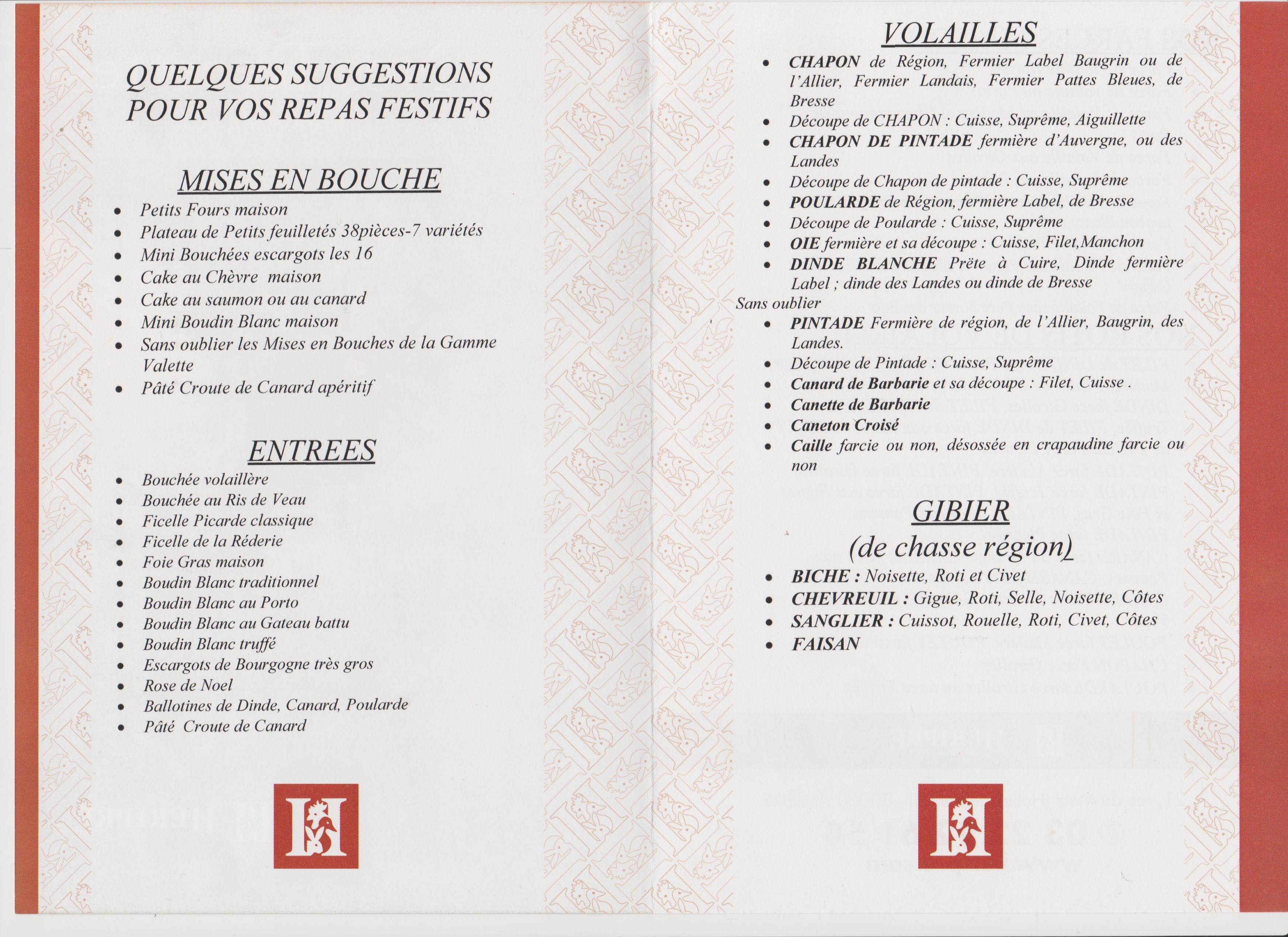 catalogue héripré noël 2015