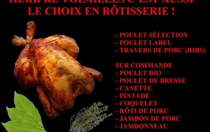 Présentation de la Rôtisserie par Héripré Volailles